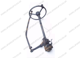 toyota steering wheel arm complete with steering box and rod