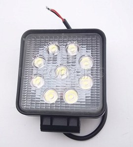 UNIVERSAL LED WORK LIGHT (SQUARE) 27 WATT (LS2406)