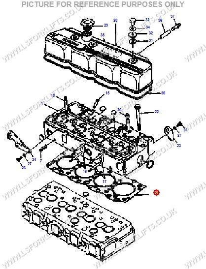 Doosandaewoo Cylinder Head Gasket Ls3165
