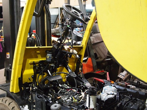 HYSTER FORTENS REFIT Engine Hood 2