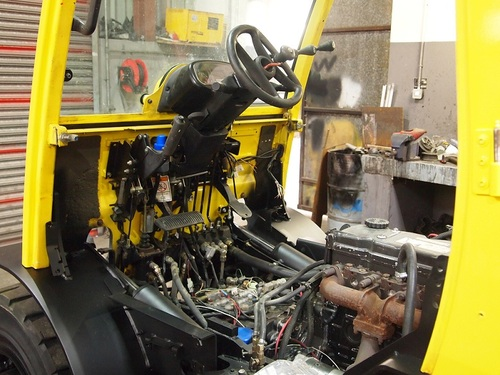 HYSTER FORTENS REFIT hydraulics 2