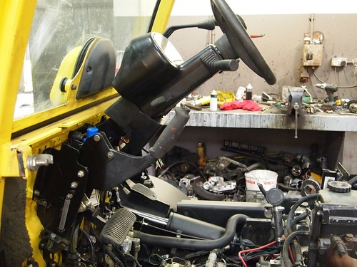 HYSTER FORTENS REFIT steering