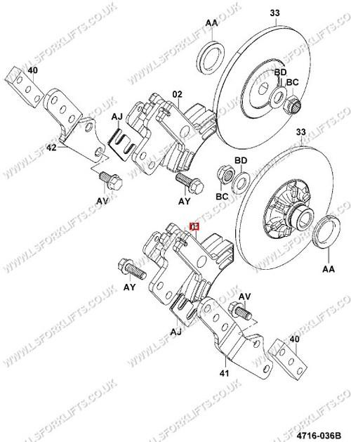 Toyota Brake Caliper Rh Ls6748