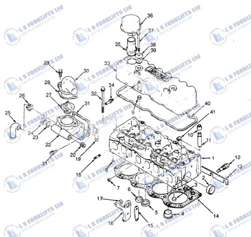 Cummins Engine Parts Diagram Water Pump