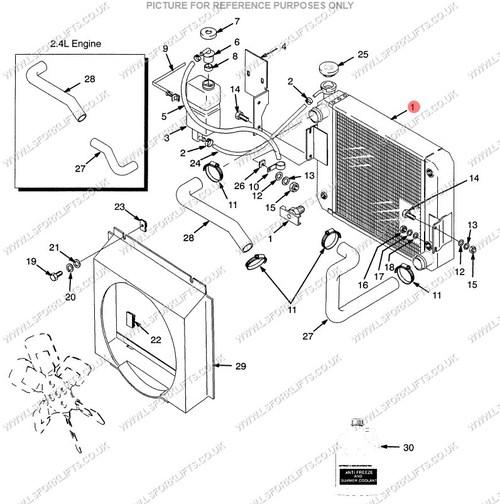 yale radiator  ls6280