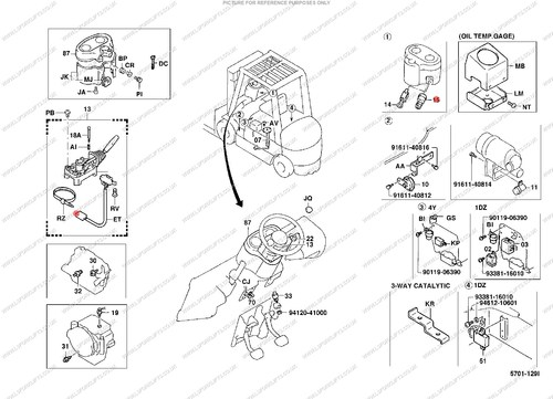 Toyota Ignition Switch Ls220 Lsfork Lifts. Ref Number Ls220. Toyota. Toyota Forklift 02 5fg45 Wiring Diagram At Scoala.co