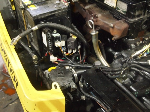 HYSTER FORTENS REFIT hydraulic pump & battery