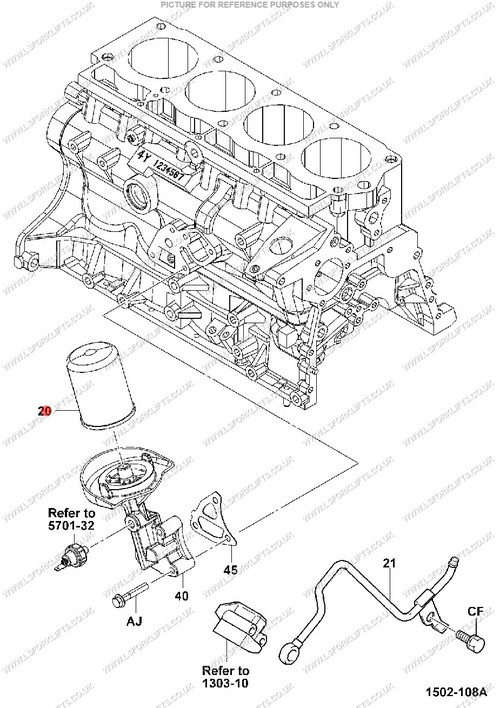 toyota 7fgcu25 diagram of parts