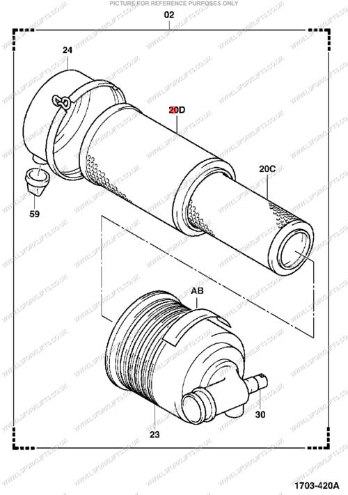 Toyota Air Filter Ls4025
