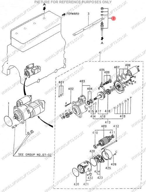 Mitsubishi S4s Glow Plug 10 5v Ls3221