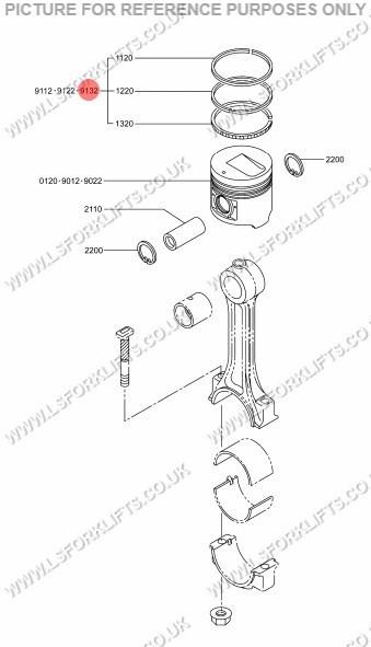 mitsubishi forklift trucks parts list