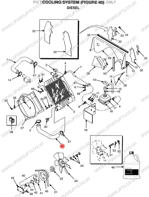 Radiator Hose Diagram 89
