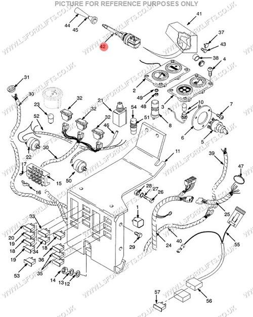 Toyota Forklift Steering Column Diagram
