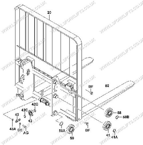 32 Daewoo Forklift Parts Diagram