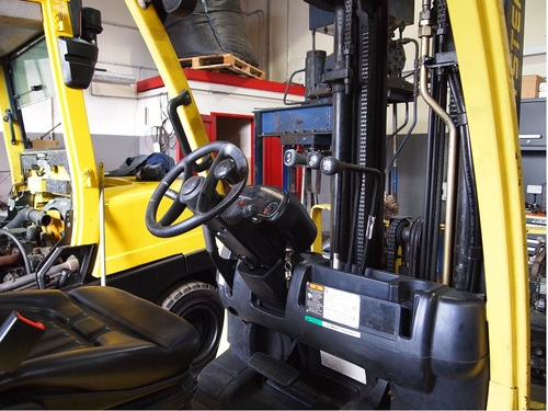 HYSTER FORTENS REFIT hydraulics assembly finished