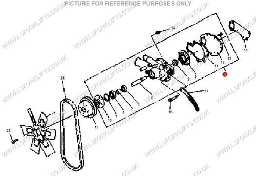 Daewoo Water Pump Ls3159