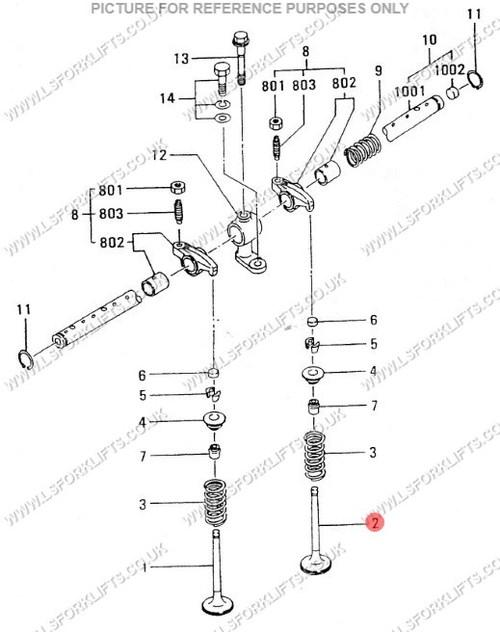 Toyota Forklift Starter Wiring 7fg25