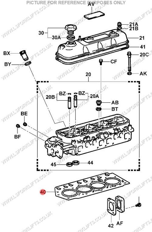 toyota 4y cylinder head gasket  ls4118