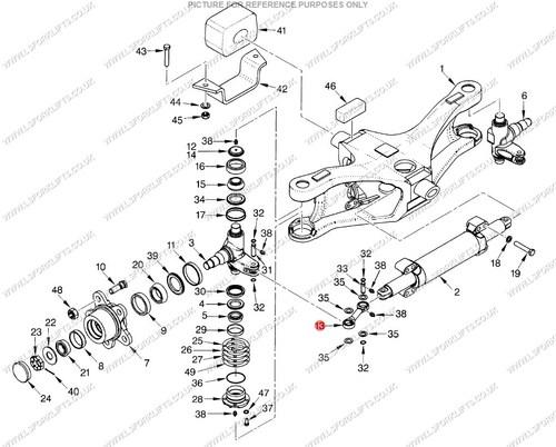 Hyster Link Steering Cylinder  Ls4566