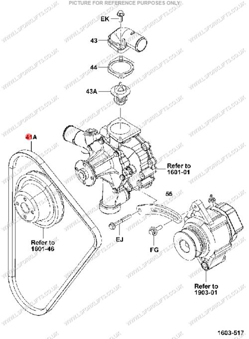 Toyota Fan Belt  Ls174
