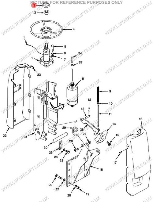 Hyster Horn Button Ls2018