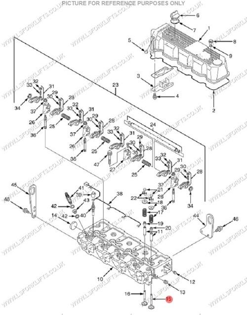 Hyster Intake Valve Ls6457