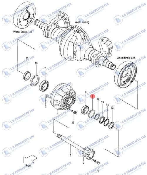 Tcm Drive Axle Oil Seal Ls6813