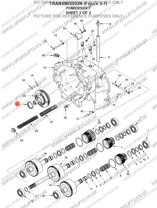 Hyster Oil Seal Ls2452