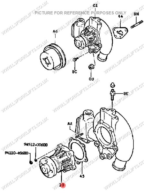 Yale Forklift Transmission Parts Diagrams Manual