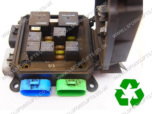 nissan forklift fuse box used hyster fuse box  ls4915  lsfork lifts  used hyster fuse box  ls4915  lsfork
