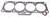 HYSTER MAZDA FE,F2 CYLINDER HEAD GASKET (LS5870)