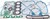 MITSUBISHI S4E FULL GASKET SET 34494-00051