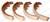HELI BRAKE SHOE KIT (LS5965)