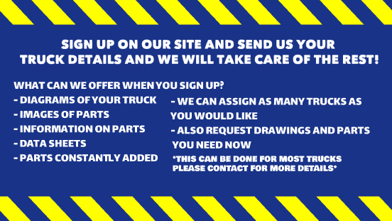 Forklift Parts Sign Up