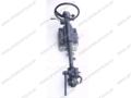 Caterpillar steering wheel c/w valve block + box control