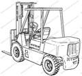 HYSTER H70-110XL H90XLS (H3.50-5.00XL (H4.00XLS-6) (F005)