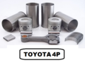 TOYOTA 4P ENGINE