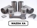 MAZDA XA 2.5 LITRE DIESEL ENGINE
