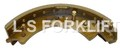 CATERPILLAR BRAKE SHOE (LS6479)