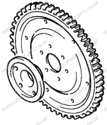 TOYOTA RING GEAR (LS1284)