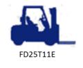 KOMATSU FD25T-11E